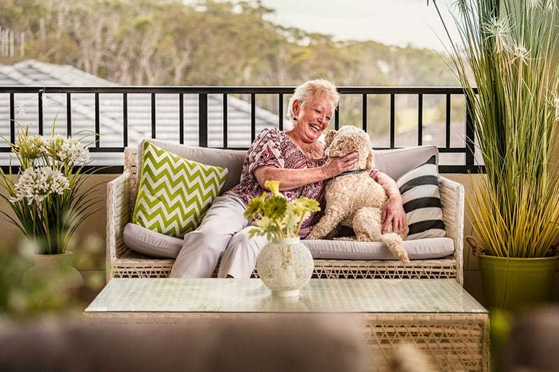 pet friendly retirement village NSW