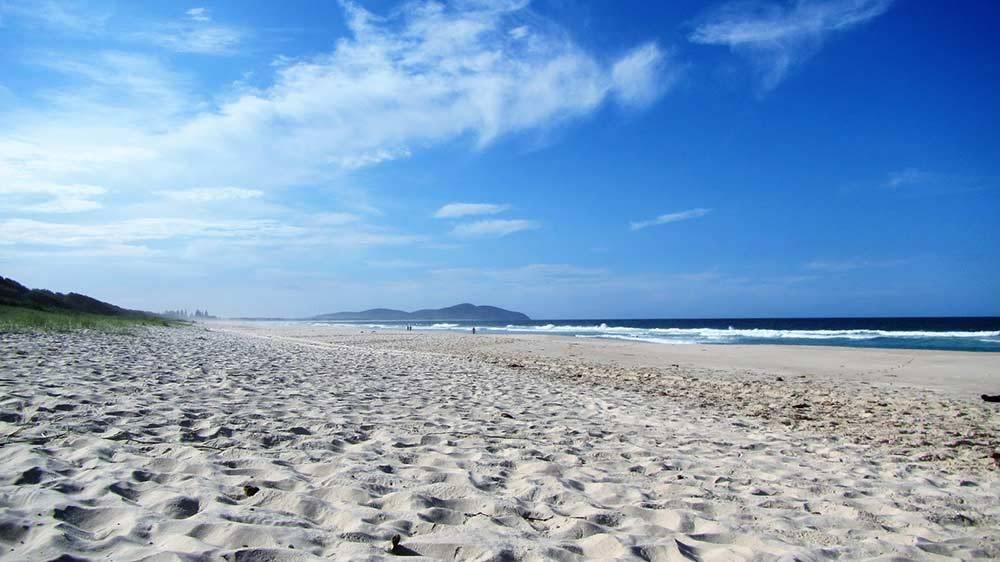 seven mile beach forster